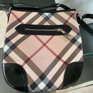 Burberry medium satchel